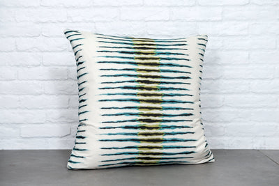 Cushion in Coral Bay Lagoon - Zanders & Co