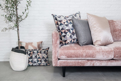 Cushion in Couture Blush - Zanders & Co
