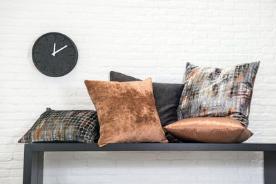 cushion throw pillow in Couture | Copper - Zanders & Co