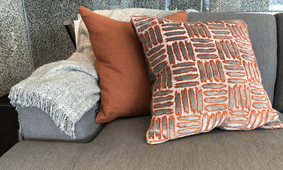 Cushion in Eternal | Burnt Orange - Zanders & Co
