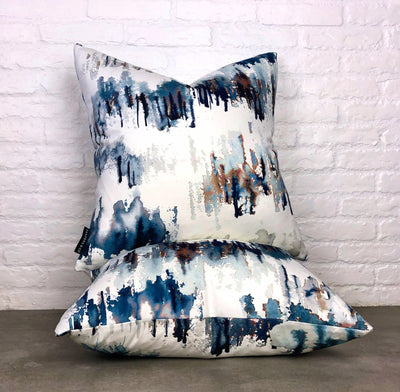 cushion throw pillow in Norrland | Indigo - Zanders & Co
