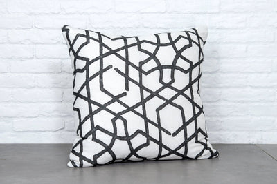 Cushion in Phibblestown Carbon - Zanders & Co