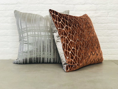 Cushion in Rombo | Copper - Zanders & Co