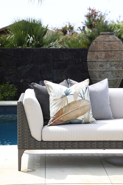 Cushion in South Beach Driftwood OUTDOOR - Zanders & Co
