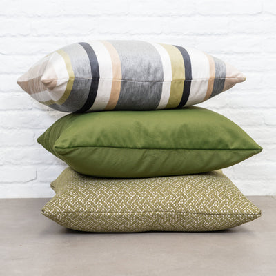 Cushion in South Beach Palm Leaf OUTDOOR - Zanders & Co
