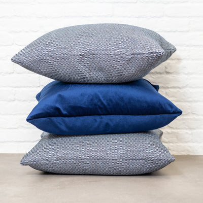 Cushion in South Beach Sapphire OUTDOOR - Zanders & Co