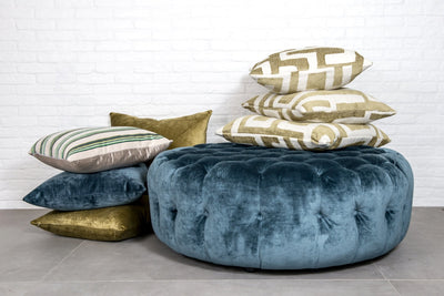Cushion in St Moritz Oasis - Zanders & Co