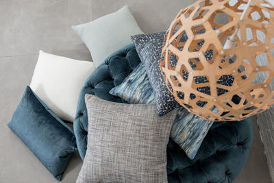 Cushion in Umbra Denim - Zanders & Co