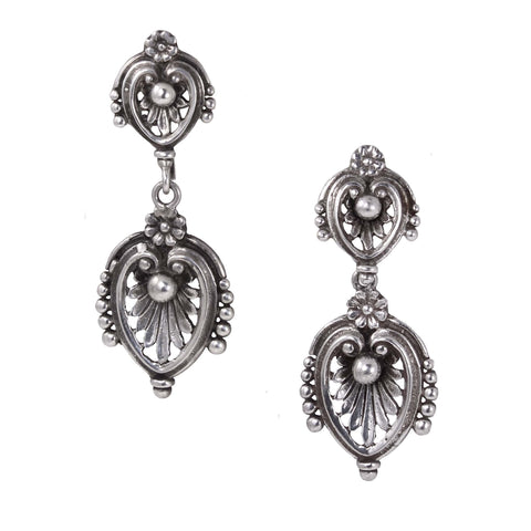 Guglielmo Cini Sterling Earrings Front