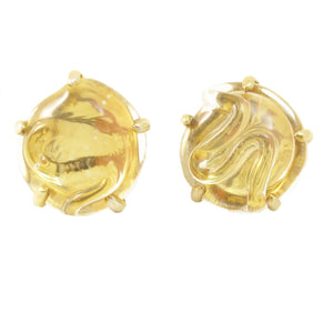 Mariquita Masterson Sterling Vermeil Glass Earrings