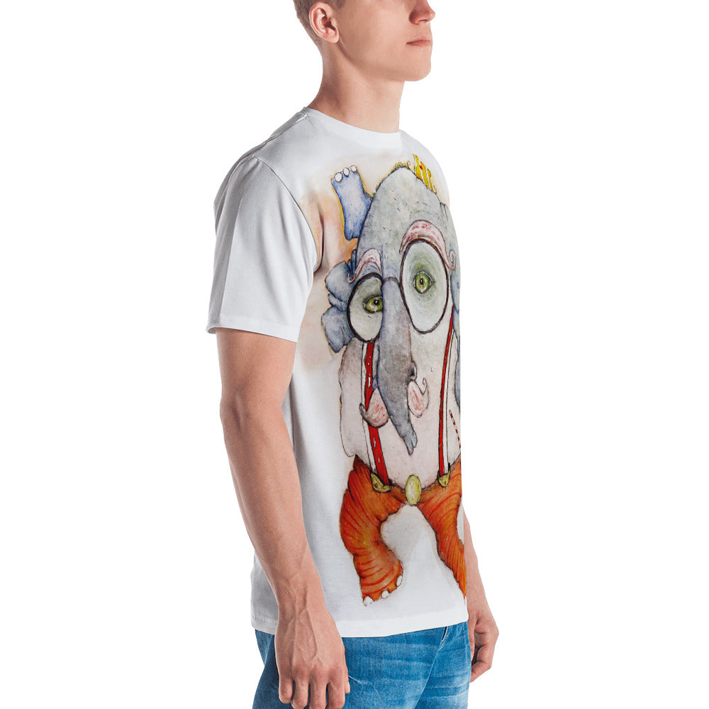 SKY ELEPHANT - Europe - Acrylic Art Tee