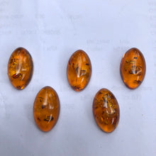 12X20 mm. Oval Calibrated Amber