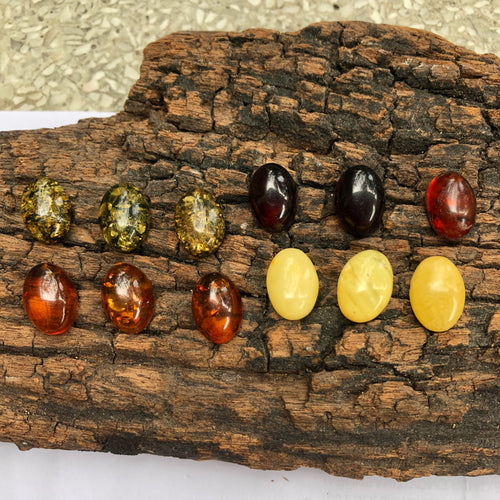 13X18 mm. Oval Shape Calibrated Amber
