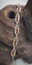 925 Sterling Silver Bracelet with Baltic Amber