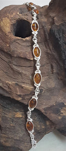 Bracelet With Amber