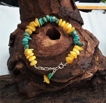 Bracelet Turquoise And Amber