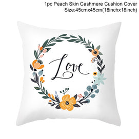 Yellow Pillowcase Decorative Cushion