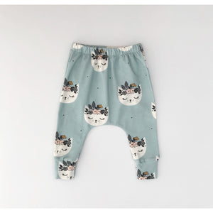 Slouch Leggings | Cat Blossoms