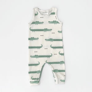 Tank Jumpsuit | Happy Crocodiles