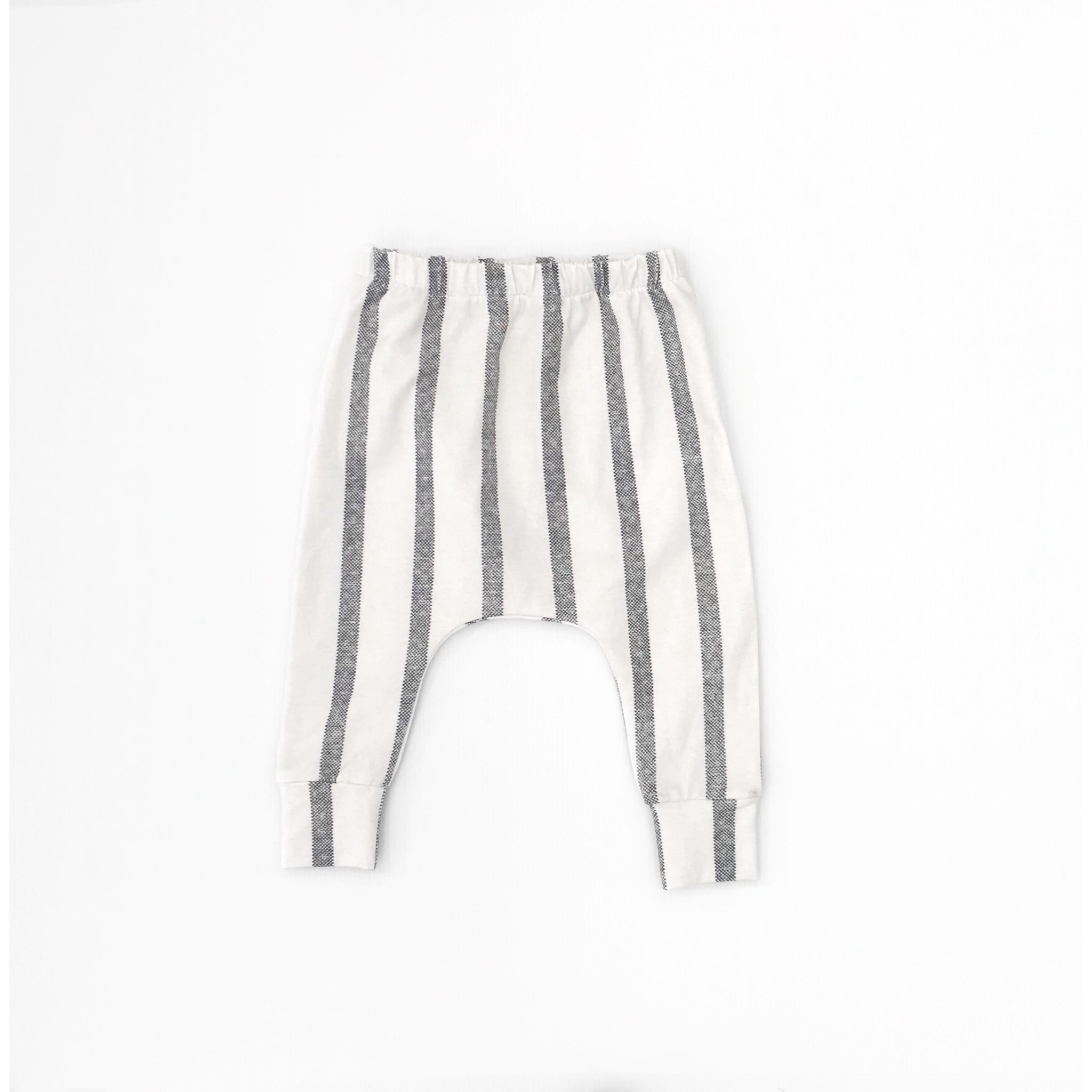 Slouch Leggings | Grey Stripes