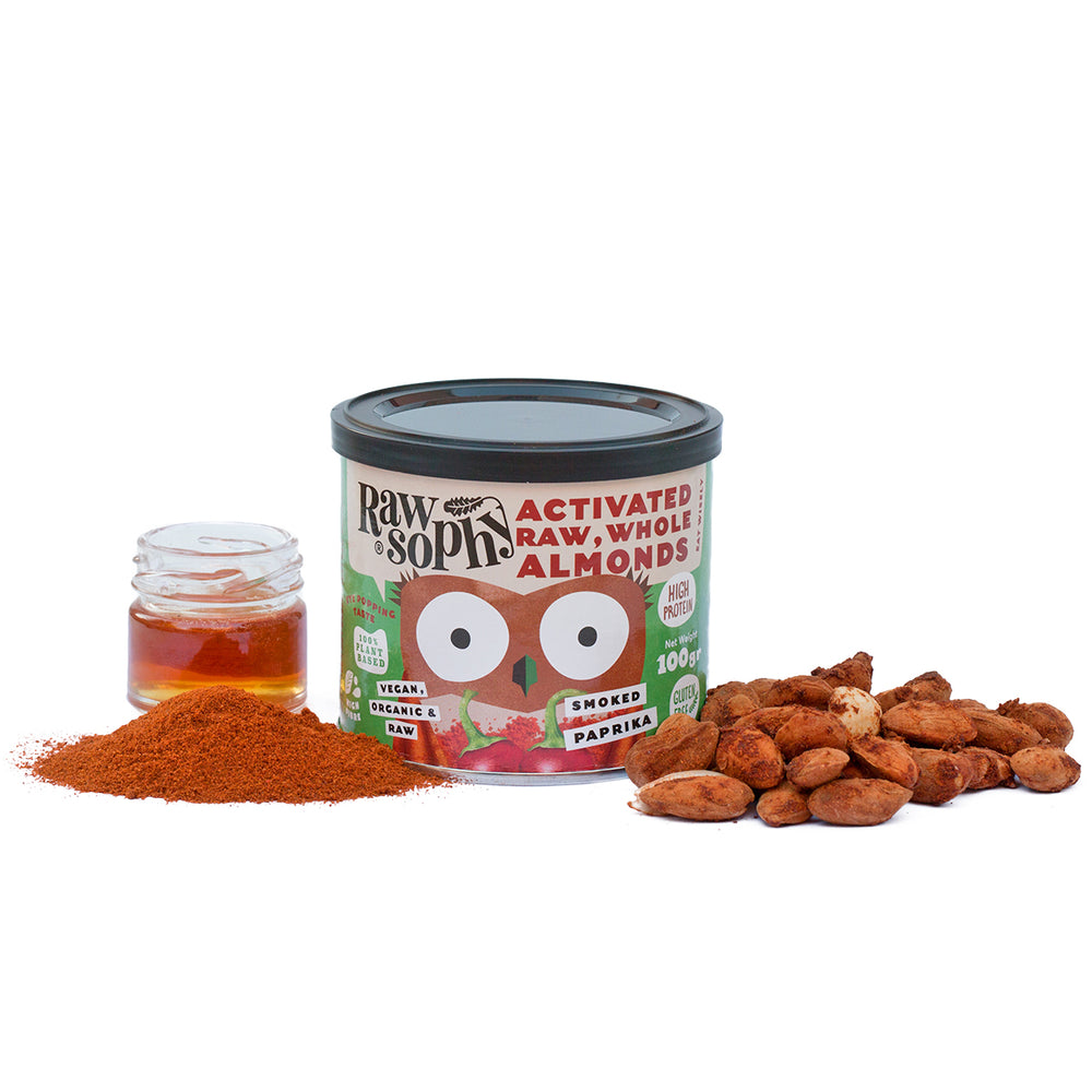 Activated Almonds Smoked Paprika