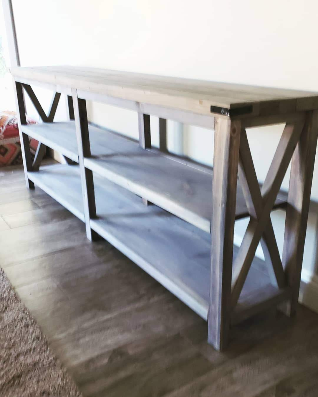 X  Console Table ...