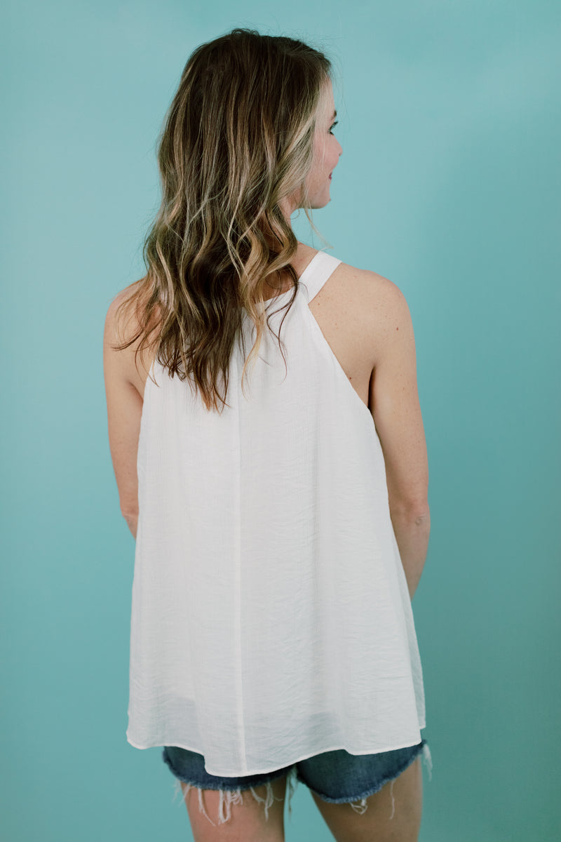 White Waves Tank