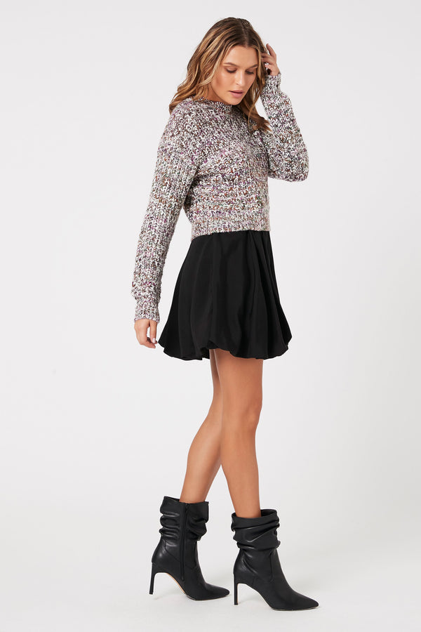 Bubble Mini Skirt