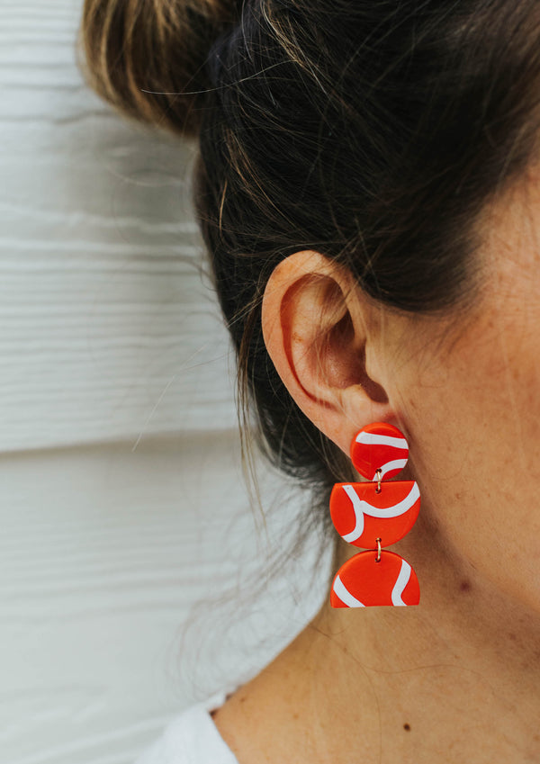 Carolyn Heart + Soul Earring