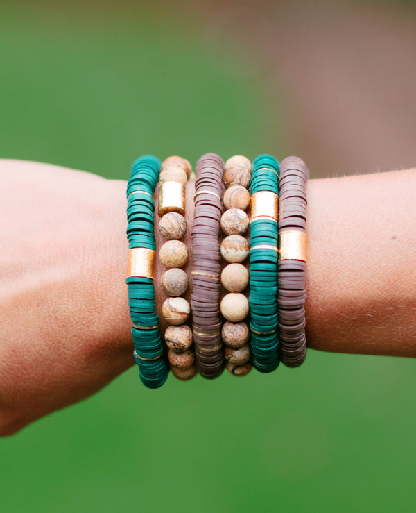 Into the Woods Bracelet Stack