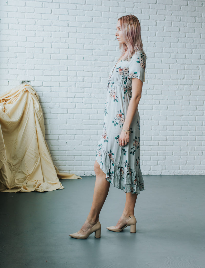 Coastline Blooms Dress