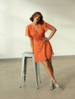 Orangcha Glad Wrap Dress