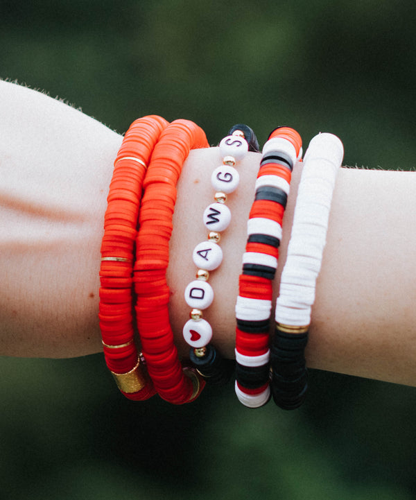 Game Day Bracelet Stack