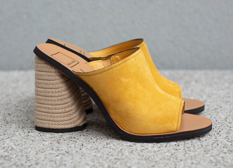 Alba Heels in Honey