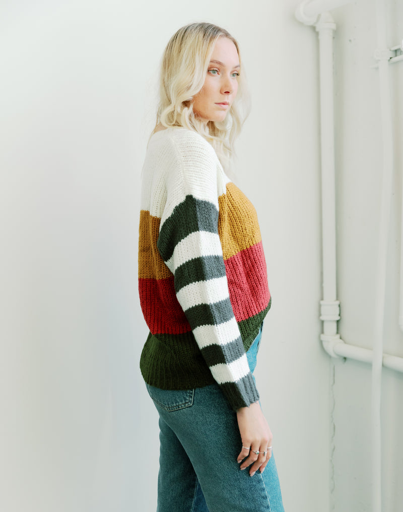 Pretty in Pine Sweater