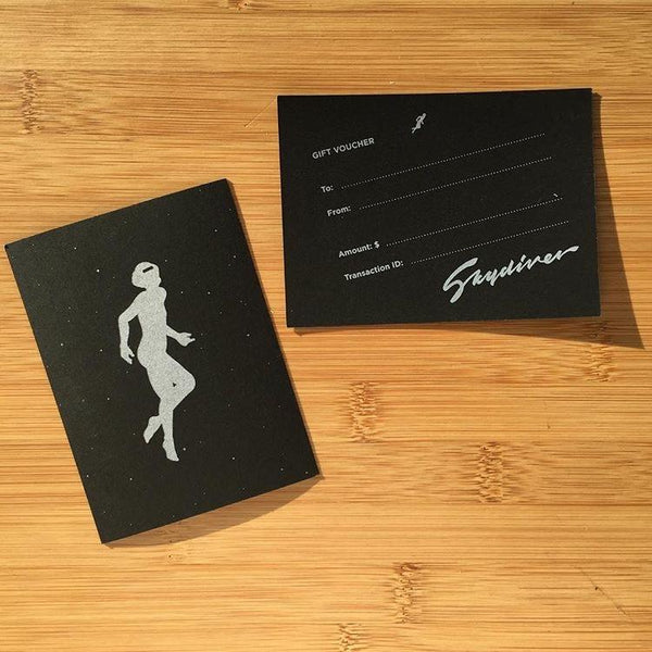 Skydiver Gift Card