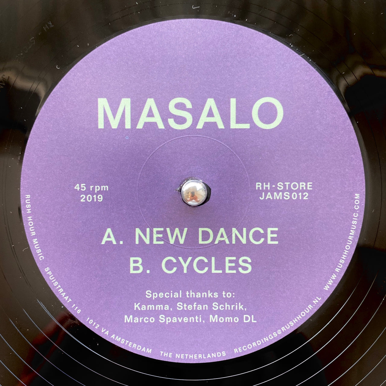 Masalo - New Dance / Cycles