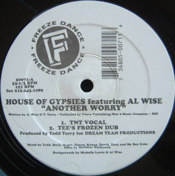 House Of Gypsies Featuring Al Wise - Another Worry