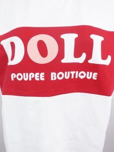 BI-COLOR T-Shirts (white) - Poupee Boutique