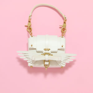 niels-peeraer bag mini (white) - Poupee Boutique