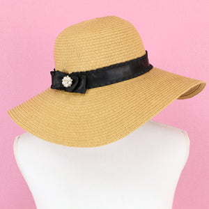 Bijou ribbon straw HATS - Poupee Boutique