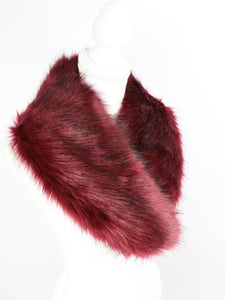 Fur tippet (Bordeaux) - Poupee Boutique