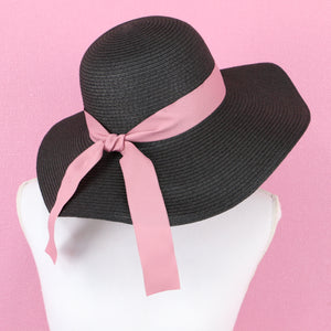 Pink ribbon HATS - Poupee Boutique