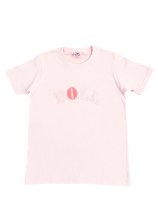 DOLL T-shirt (pink) - Poupee Boutique