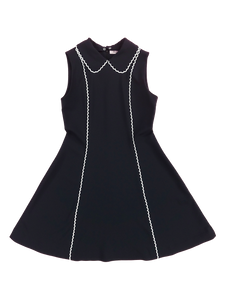 Picolace one-piece (black) - Poupee Boutique