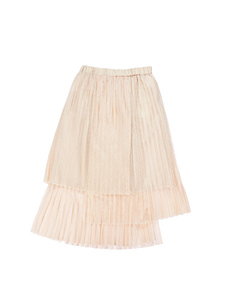 Dot tulle skirt (pink) - Poupee Boutique