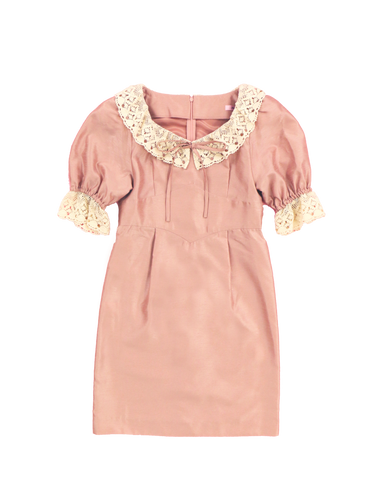 Clara one-piece (rose) - Poupee Boutique