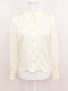 Lily blouse (white) - Poupee Boutique