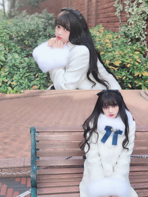 Snow drop coat (off-white)