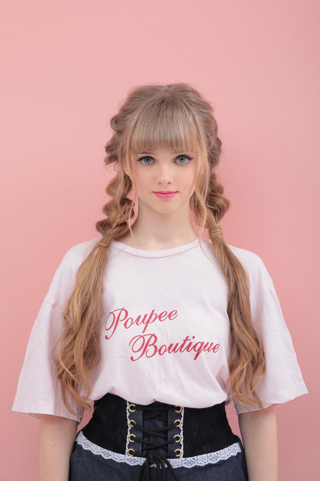 BIG logo T-shirt - Poupee Boutique